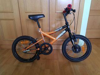 """se vende bicicleta de niñ@,16""""pulgadas,"""
