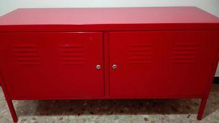 IKEA Armario rojo de metal