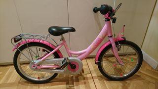 """Bicicleta para niña 18"""" Puky"""