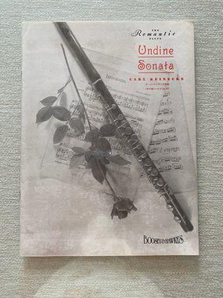 Undine Sonata para flauta y piano Op. 167 Reinecke