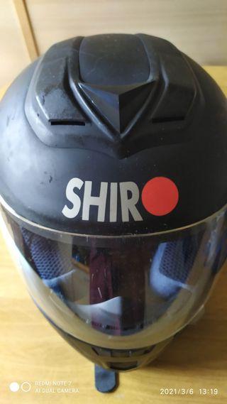 casco integral shiro sh996 talla S 55-56 cms