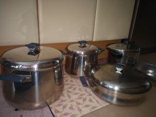 Utensilios de cocina MEPRA + OLLA RAPIDA MONIX
