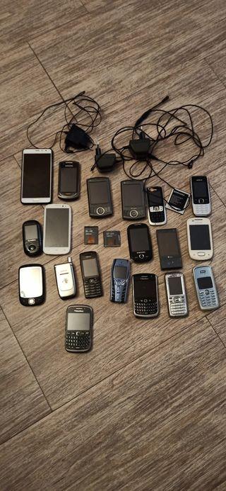 lote teléfonos móviles