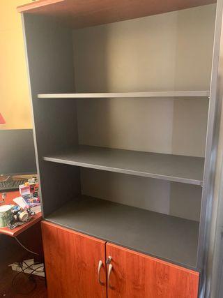 Armario, book y escritorio oficina estudio