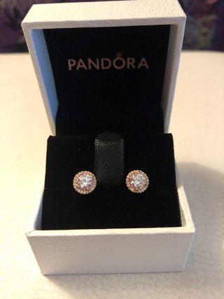 Pendientes Pandora Rosé
