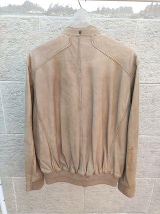 chaqueta piel Massimo Dutti L