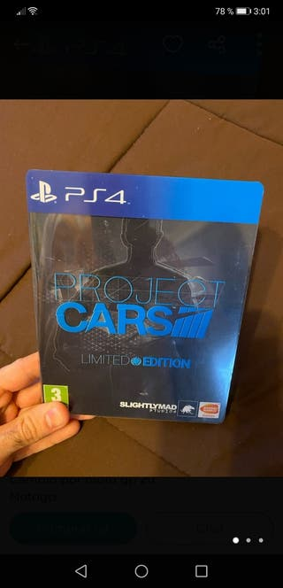 Project cars ps4 limited edition