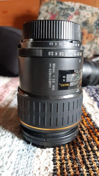 tamrom sp 90 af macro para Nikon