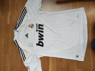 Camiseta futbol Real Madrid original