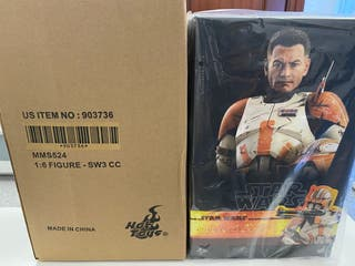 Hot toy Star Wars Commander Cody