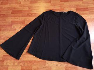 Camisa manga amplia