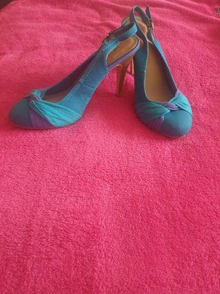 zapatos de tacón de Blanco talla 39