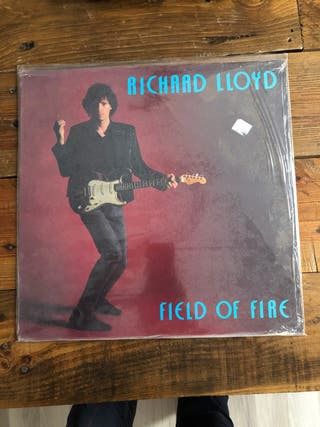 "Vinilo Richard Lloyd ""Field of Fire"" EX"