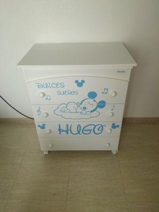 Mueble bañera cambiador bebé Micuna