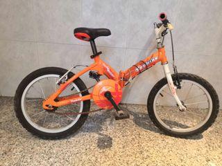 Bicicleta infantil plegable