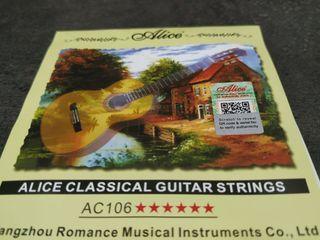 Cuerdas Guitarra Clásica