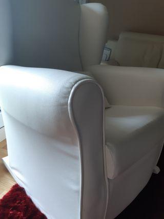 sofá mecedora para lactancia