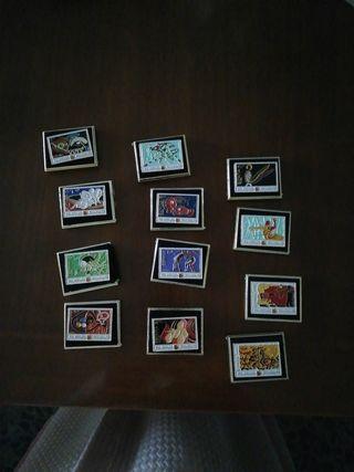 pins de sellos