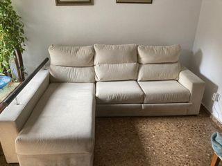 sofá chaiselongue con arcon