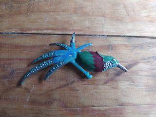 Broche colibrí