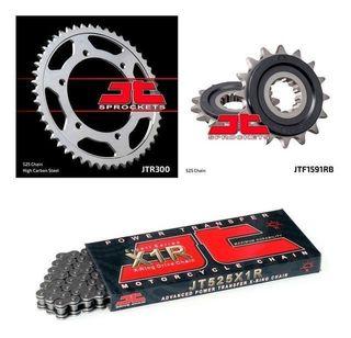 -- kit de arrastre para moto reforzados