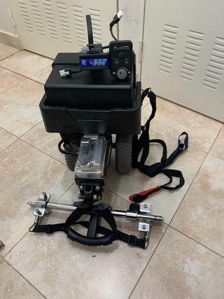 Motor eléctrico acompañante silla ruedas