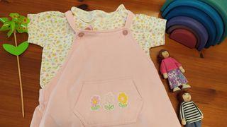 Peto + camiseta niña 2 años. Ver fotos