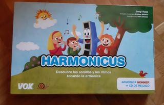 Harmonicus - armónica y libreto infantil