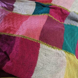 colcha de cama de lana