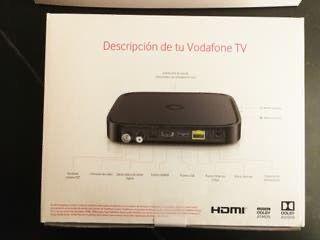 Decodificador TV Vodafone como nuevo