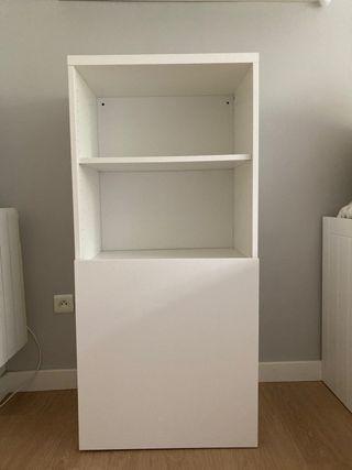Armario librería con puerta