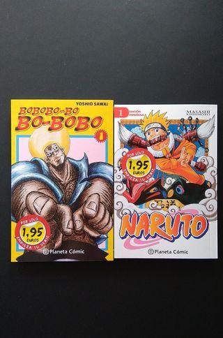 Manga Naruto y Bobobo