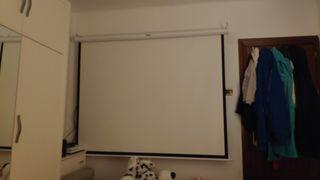 pantalla proyector mesa tripode