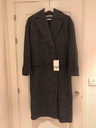 Abrigo oversize largo Zara