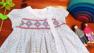 Vestido + braguitas Gocco 12-18 meses