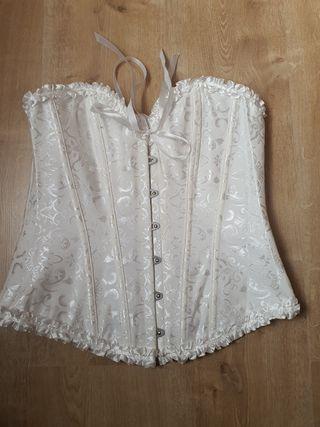 corset blanco