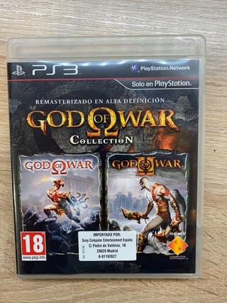 PS3 GOD OF WAR Collection + GoW I