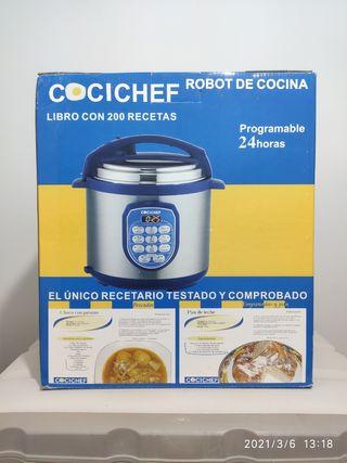 Robot de cocina Cocichef + recetario