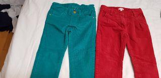 pantalones pana y terciopelo este de gocco. T2-3