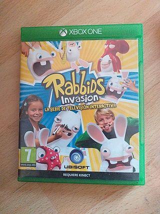 Juego Rabbids Invasion Xbox One
