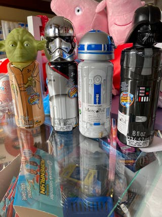 Burbujas star wars botella
