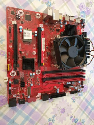 Placa Base Tampa2 + Intel Core i7-8700