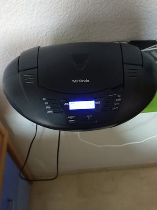 Reproductor CD/MP3 portátil MX ONDA