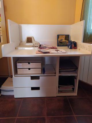Cambiador escritorio IKEA