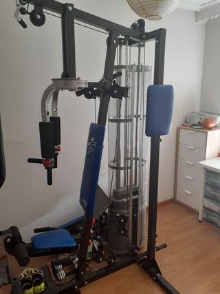 máquina de hacer pesas