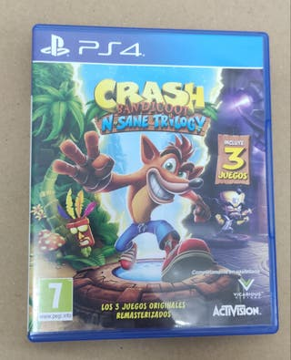 (PS4) Crash Bandicoot N'Sane Trilogy
