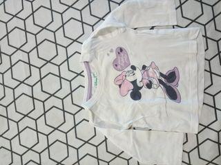 Camiseta bebe mangas largas Disney