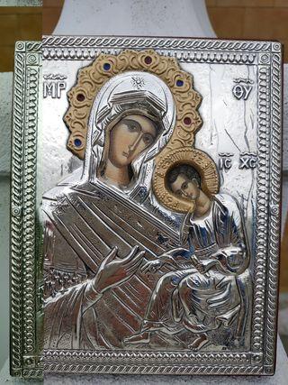 Cuadro religioso bizantino