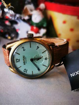 Reloj NIXON C39 SWISS MOVEMENT Leather nuevo