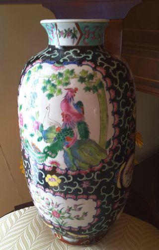 Jarron ceramica vintage CHINO 1990